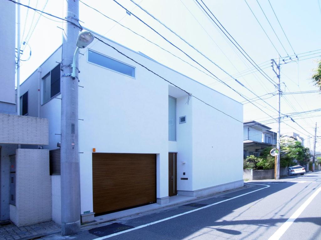 柿の木坂の家外観