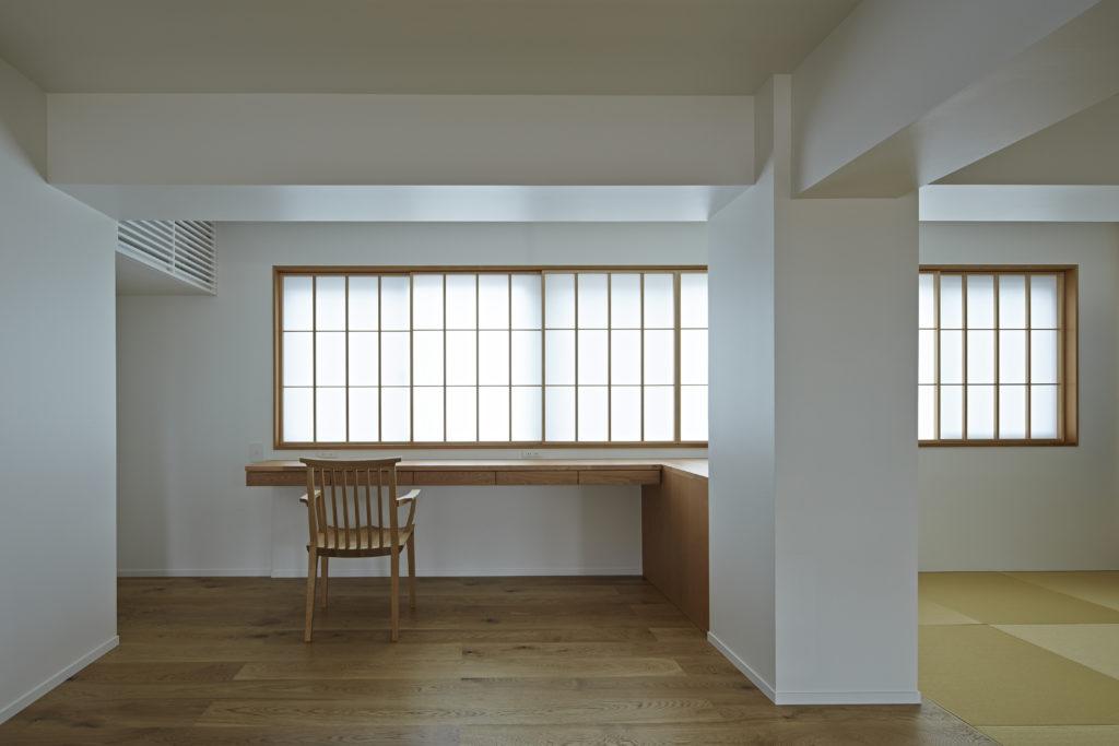 浅草の家 畳スペース・書斎
