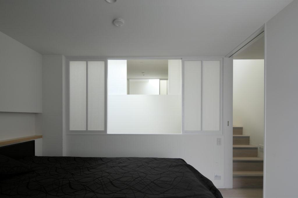 高輪の家 寝室